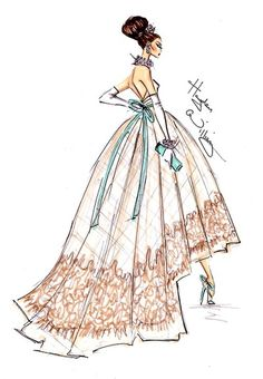 New Year Couture 2013 by Hayden Williams #fashion #illustration