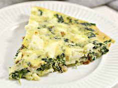 Weight Watchers Crustless Spinach, Onion and Feta Quiche Cooking Light Recipes, Ww Recipes, Low Calorie Recipes, Healthy Recipes, Greek Recipes, Weight Watchers Meal Plans, Weight Watchers Breakfast, Food Menu, Meals For One