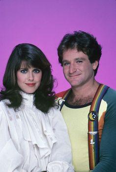 Robin Williams & Pam Dawber Mork & Mindy
