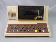 Vintage VTech Lesson One 1980 Math Spelling Tutor Electronic Learning Computer Toy by WesternKyRustic on Etsy
