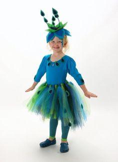 Allie's peacock costume