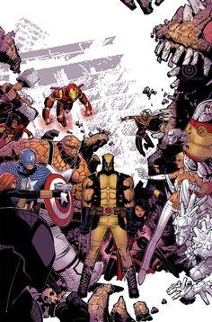Wolverine & The X-Men #9 // Chris Bachalo