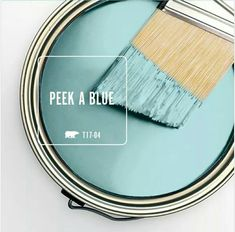 Kitchen Color Peek A Blue - Behr paint