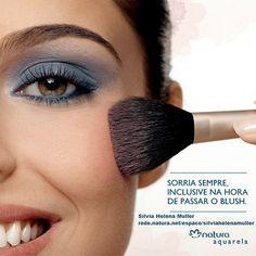 #redenaturasilviahelenamuller  Conheça a linha de maquiagens Natura Aquarela!