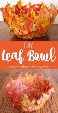 Fall crafts for the kids. Crafting with Fall Leaves., DIY and Crafts, Leaf Bowl DIY. Fall crafts for the kids. Crafting with Fall Leaves. Autumn crafts for kids with leaves. Easy Fall Crafts, Fall Crafts For Kids, Fall Diy, Diy For Kids, Leaf Crafts Kids, Fall Arts And Crafts, Autumn Art Ideas For Kids, Autumn Activities For Kids, Crafts For Teens To Make