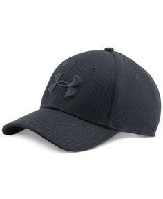 Under Armour Men s Blitzing Ii Stretch-Fit HeatGear Hat Under Armour Shoes  Mens cd833398c679