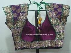 Saree Blouse ~ Celebrity Sarees, Designer Sarees, Bridal Sarees, Latest Blouse Designs 2014