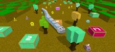 Play Blocky Snake the game online for free on BrightestGames.com. Fun Math Games, Games To Play, Play Online, Online Games, Snakes For Kids, Snake Game Google, Play Snake, Sea Monkeys, Do Your Best