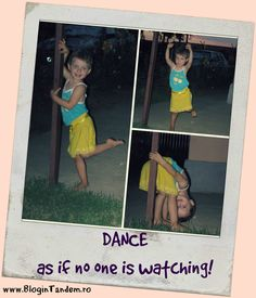 Dance as if no one is watching! Different Words, Polaroid Film, Dance, Camera, Electronics, Wisdom, Dancing, Cameras, Prom