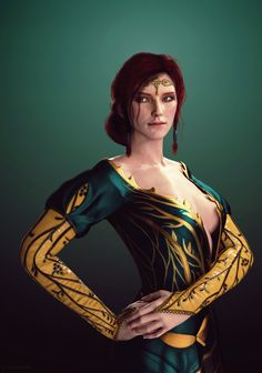 The Witcher 3 - Triss by kskripann23