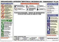 Plan_Evacuare - Realizare semnalistica specifica Prevenirii si Stingerii Incendiilor Saint Nicholas, After School, Diy And Crafts, Fire, How To Plan, Feelings, Skeleton, Author, Firefighter