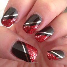 Black red…