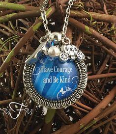 Inspired Disney Cinderella Charm Necklace by MarieMayFavorites