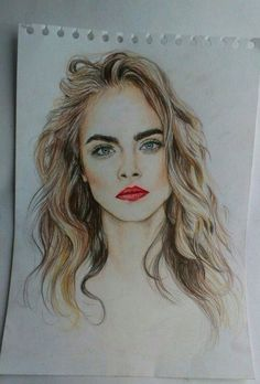 Cara  drawing