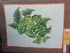 Monstera Fern quilt This is one of my favorite Hawaiian quilts!