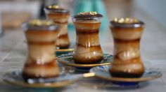 Make Rachel Khoos Turkish coffee creams to be paired with chocolate Turkish delight mendiants