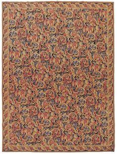 9×12 Aubusson Weave Rug. Sale Price $1599.
