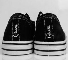 caf1cfa617f7 11 Best Bride Groom Heel Tags Stripe on Converse images