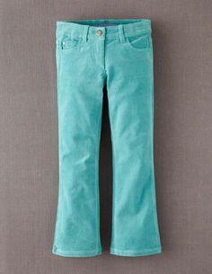 Cord Bootleg Jeans