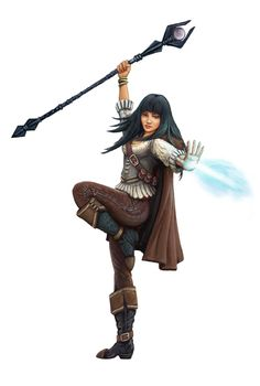 Female Character by SHAWCJ on DeviantArt