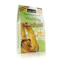 Wedding Confetti - Rice Paper - Biodegradable Cost plus postage from Uk Paper Confetti, Wedding Confetti, Rice Paper, Wedding Paper, True Love, Biodegradable Products, Wedding Venues, Balloons, Ebay