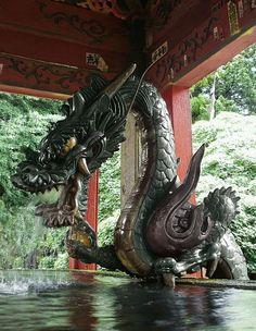 Bronze Dragon, Fuji-Yoshida City, Japan photo via dejan
