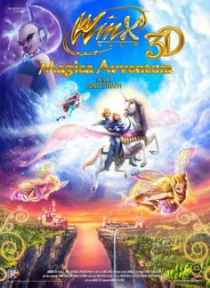 Winx Club 3D: Magic Adventure 11x17 Movie Poster (2011)
