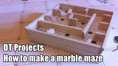How To Make A Marble Maze/labyrinth