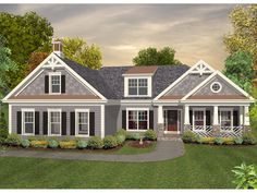 1000 images about garage ideas on pinterest garage for Craftsman house plans with side entry garage