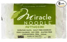 Miracle Noodle Zero Carb, Gluten Free Shirataki Pasta, Fettuccini, 7-Ounce (Pack of 6)  Price:14,71$  https://www.amazon.com/gp/product/B00BP36RW6/ref=as_li_qf_sp_asin_il_tl?ie=UTF8&tag=bestselle0b0f-20&camp=1789&creative=9325&linkCode=as2&creativeASIN=B00BP36RW6&linkId=fac77db4254894946615fc7f401a6e6a