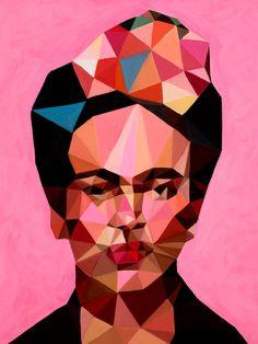 Saatchi Art: Frida I Painting by Angie Jones