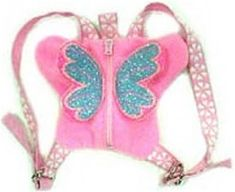 Butterfly Backpack/Harness- lol the things they have for dogs! I would get this for my little pet!