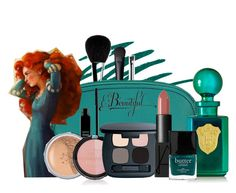 """Merida: makeup"" by holly-the-fangirl ❤ liked on Polyvore featuring beleza, Stila, NARS Cosmetics, Chanel, Amazing Cosmetics, Hadaki, Lord & Berry, Bare Escentuals, Forever 21 e Régime des Fleurs"