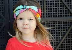 Colorful Turban Style Headband by LucillePaige