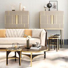 Luxury Sofa, Luxury Furniture, Home Furniture, Furniture Design, Office Interior Design, Interior S, Living Room Designs, Living Room Decor, Living Rooms