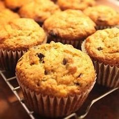 Mayonnaise, bananas, and chocolate chips team up in this muffin recipe.