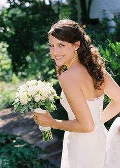 Bridal Portrait - Clifton Inn. Designed by Easton Events - Destination Wedding Planners with offices in Charleston, SC and Charlottesville, VA photo by Jen Fariello