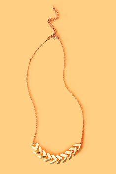 Chevron Chain Necklace