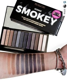 ICONIC SMOKEY by Makeup Revolution. Cheap, good quality, and CRUELTY FREE!