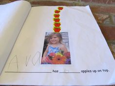Make your own version of Ten Apples Up On Top!, with pictures of family and friends