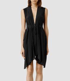 Mujer Lewis Lew Dress (Black) -