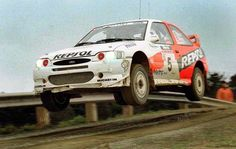 Rally New Zeland 1997 Carlos Sainz 1997 Secondo classificato Ford Rs, Car Ford, Micra K11, Rallye Wrc, Ford Motorsport, Ford Escort, Rally Car, Alfa Romeo, Race Cars