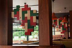 Nandos - Interior Artwork 2 on Behance Modular Shelving, Kwazulu Natal, Making Waves, Creative Industries, Store Design, My Design, Holiday Decor, Behance, Interior