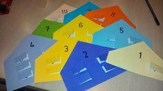 Splitsappartementjes tot 10 Grade 1, Math Activities, Diy For Kids, Classroom, Teaching, Logos, Circuit, September, Names