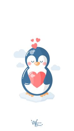 J'aurais dû appeler mon fils Lucas ! Penguin Drawing, Penguin Tattoo, Pastel Wallpaper, Wallpaper Backgrounds, Iphone Wallpaper, Penguin Love, Cute Penguins, Cat Pattern Wallpaper, Baby Posters