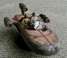 Revell's 1/25 scale XP-34 Landspeeder from Star Wars.