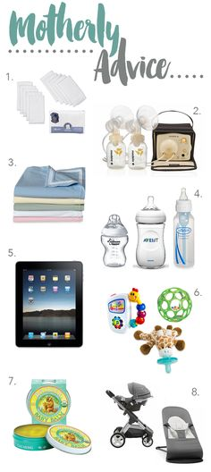 Motherly Advice:  Must Have Baby Products and Mama Hacks for New Moms out there!