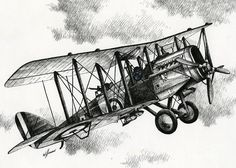 De Havilland Airco Art Print by James Williamson. All prints are professionally printed, packaged, and shipped within 3 - 4 business days. Choose from multiple sizes and hundreds of frame and mat options. Airplane Drawing, Airplane Art, Plane Tattoo, Arches Watercolor Paper, Thing 1, Vintage Airplanes, Aviation Art, Great Photos, All Art