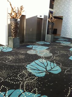 come and see: Crowne Plaza Promenade hotel, Den Haag   ege carpet/ Muurbloem floorfashion