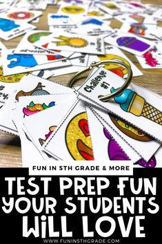Test prep doesn't have to be boring! This blog post gives details on 7 awesome engaging test prep ideas that students will love. These fun ideas and games will help your students learn valuable… More